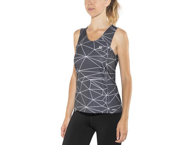 Salomon Comet - Camisa sin mangas Mujer - gris